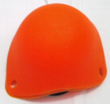 Silicone Egg Poacher Poaching Poach Pods Orange